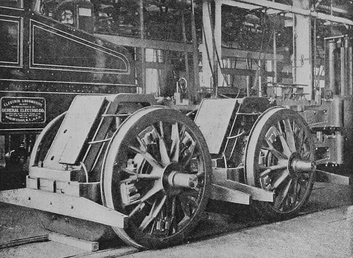 File 268a Truck Of Baltimore And Ohio 1896 Gearless