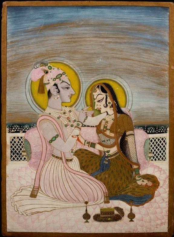 Image result for radha krishna kishangarh