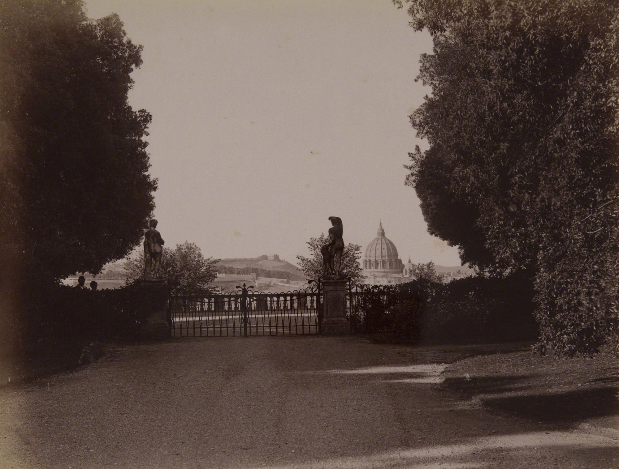 File 461 Roma Villa Pamphili Doria Terrazza Con Vista