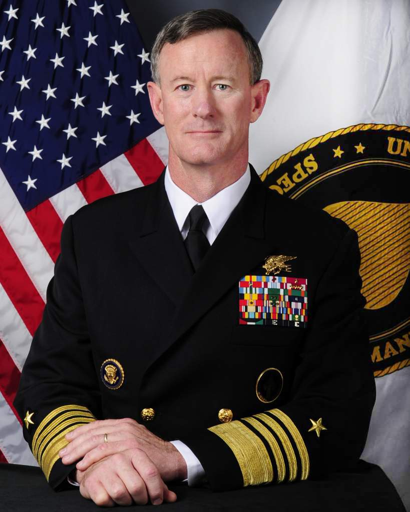 Image result for WILLIAM h. McRAVEN OBAMA