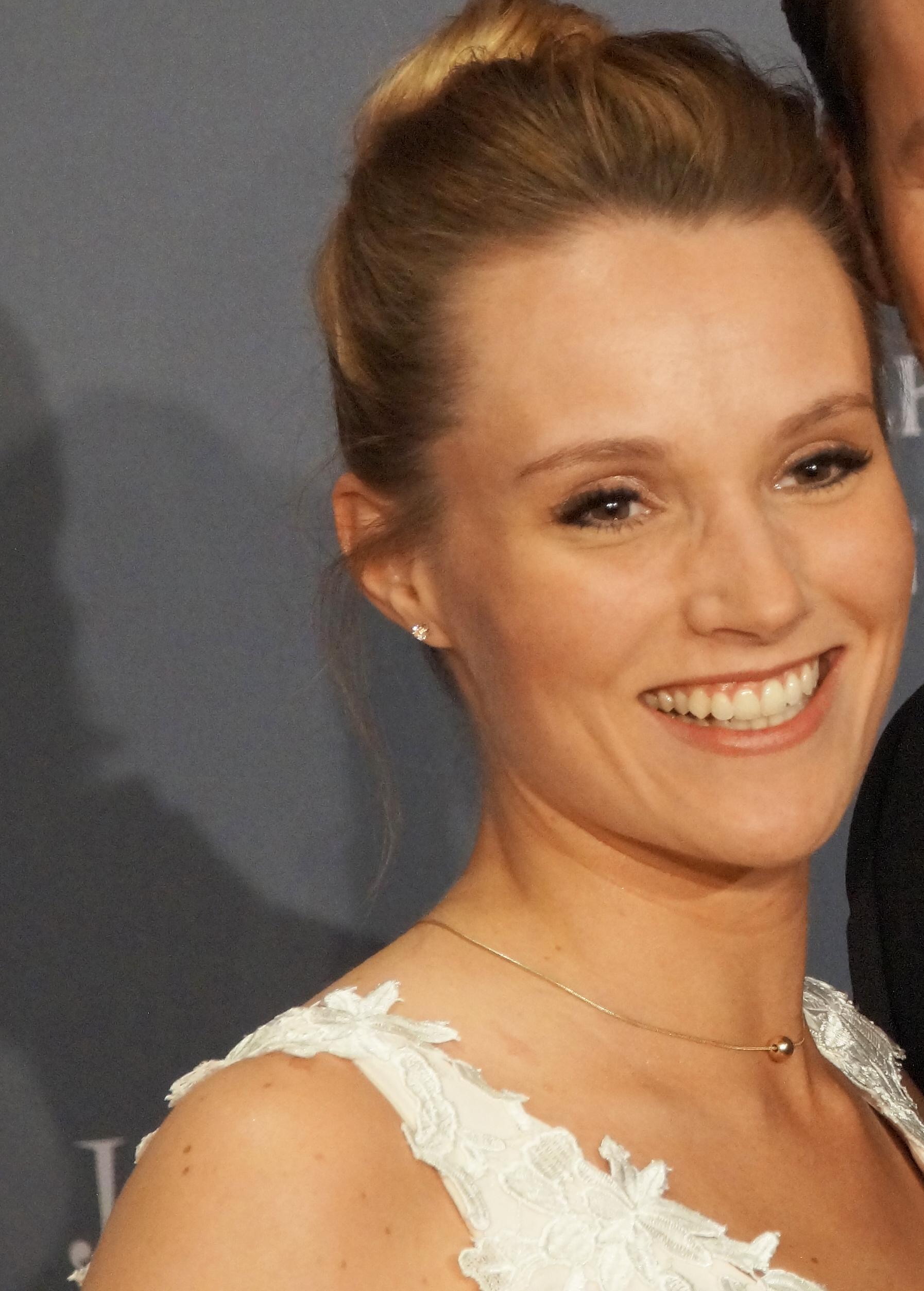 The 31-year old daughter of father (?) and mother(?) Anna Hofbauer in 2020 photo. Anna Hofbauer earned a million dollar salary - leaving the net worth at million in 2020