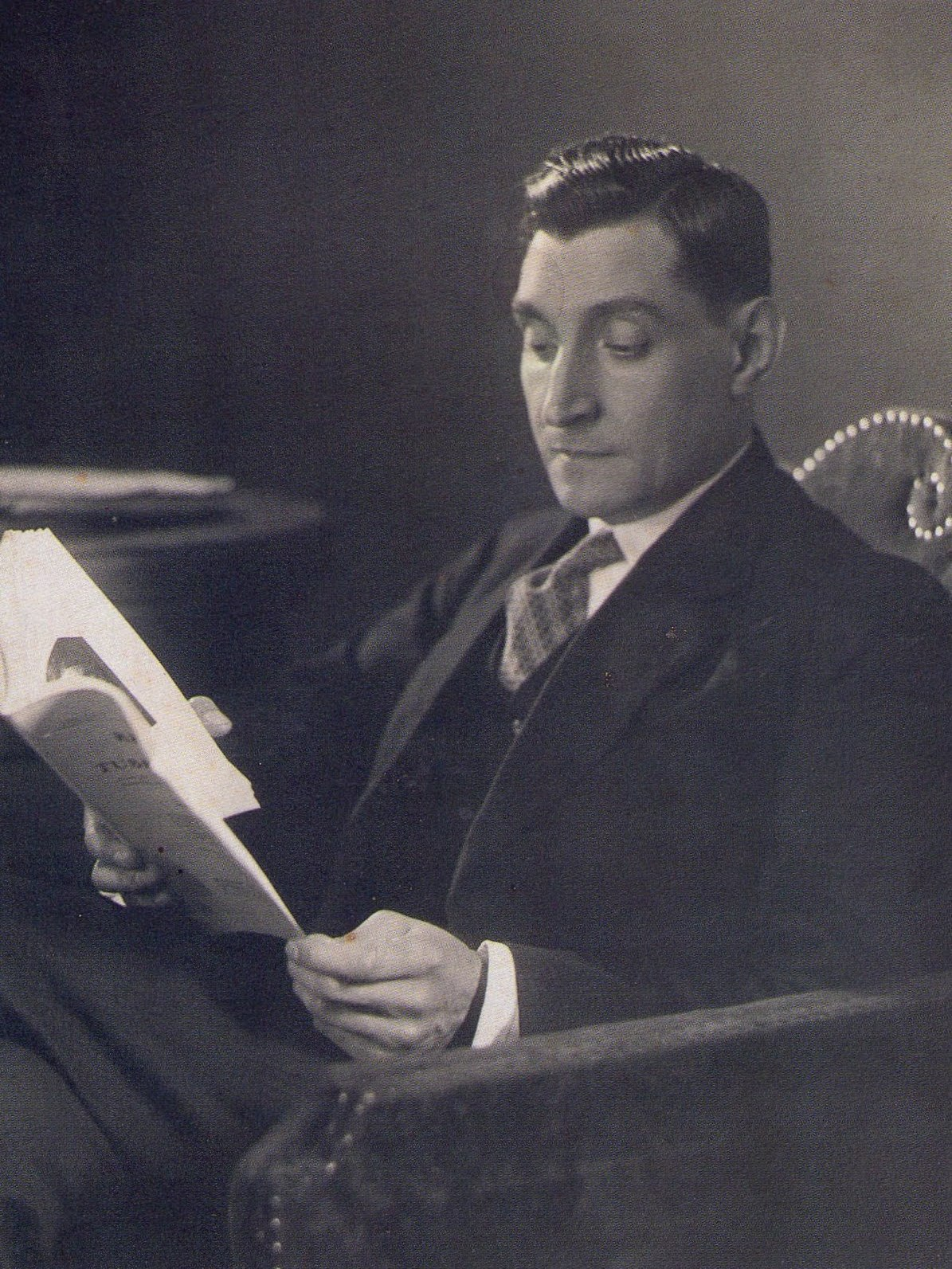 António de Oliveira Salazar in 1940