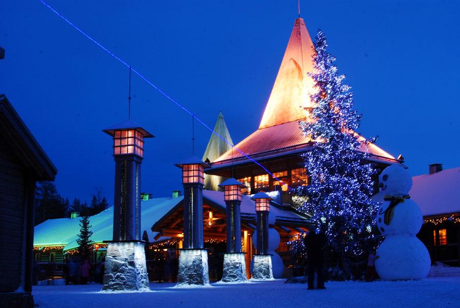 Rovaniemi Finlandia Villaggio Di Babbo Natale.Villaggio Di Babbo Natale Wikipedia
