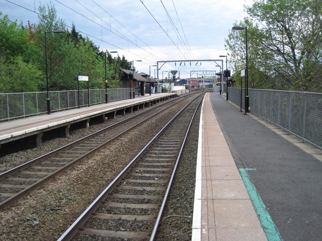 Aston railway station - Wikipedia