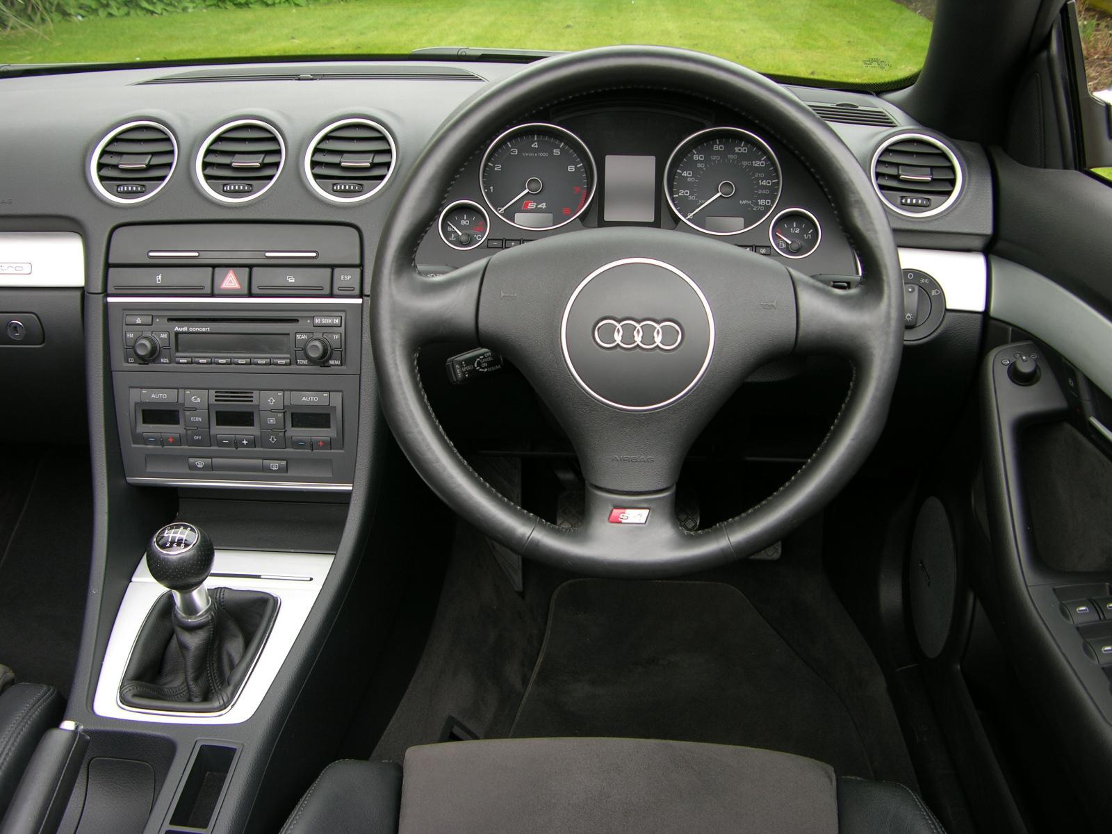 File Audi A4 B7 Cabriolet Dashboard Jpg Wikimedia Commons