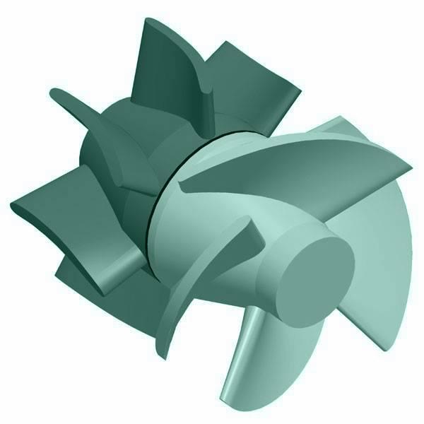 Axial Flow Impeller Blades : Wiki axial flow pump upcscavenger