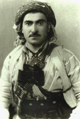 Mustafa Barzani was the primary political and military leader of the Kurdish cause until his death in 1979. Barzani1.jpg
