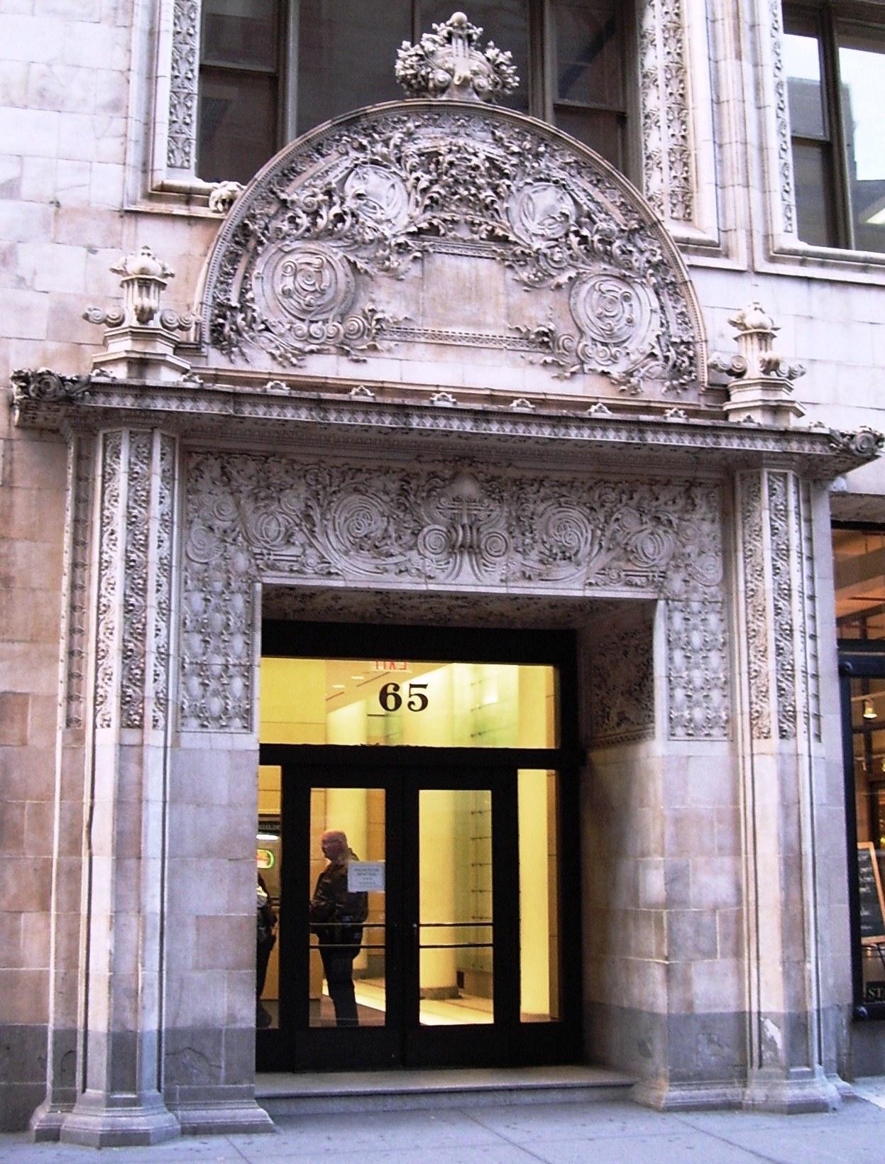 Description bayard condict building entrance