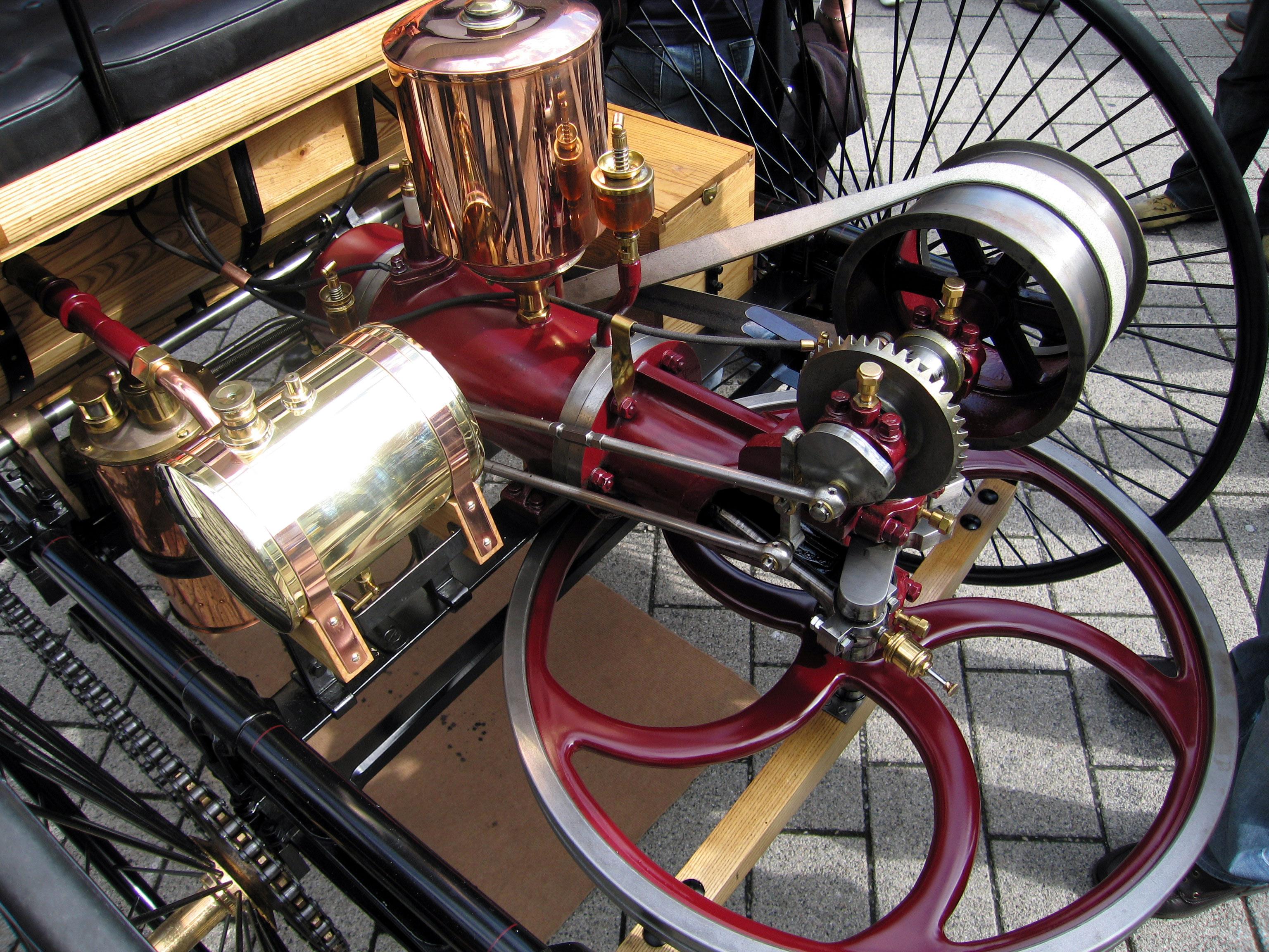 Паровые двигатели для автомобиля