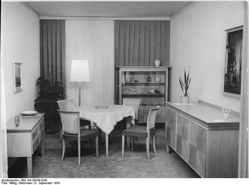 FileBundesarchiv Bild 183 26244 0243 Wohnzimmer VEB Deutsche Werksttten Hellerau