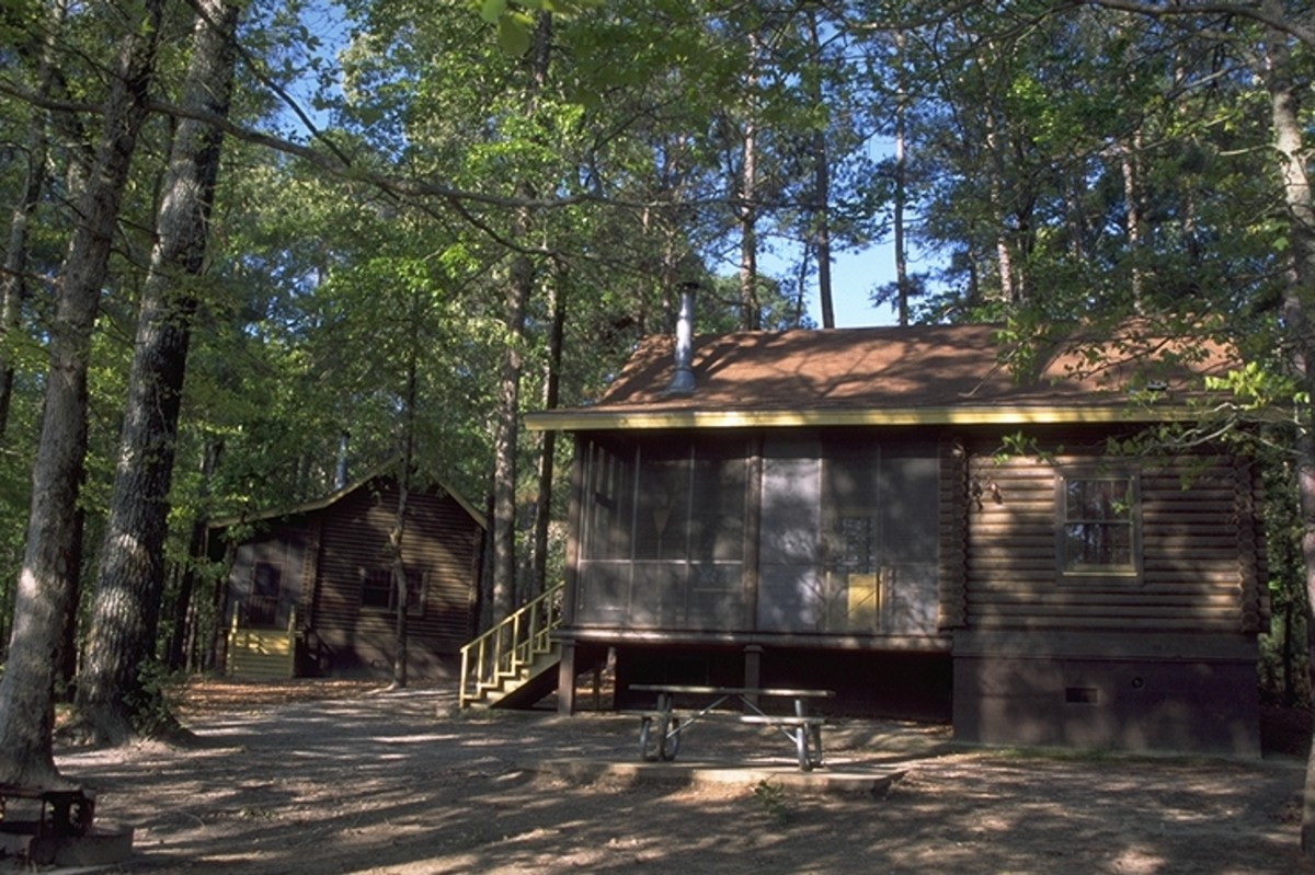 File Cabin At North Toledo Bend State Park Jpg Wikimedia