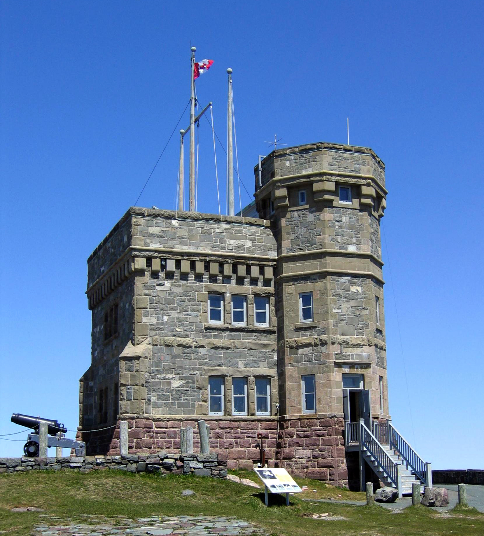 Cabot Tower, Signal Hill, Newfoundland
