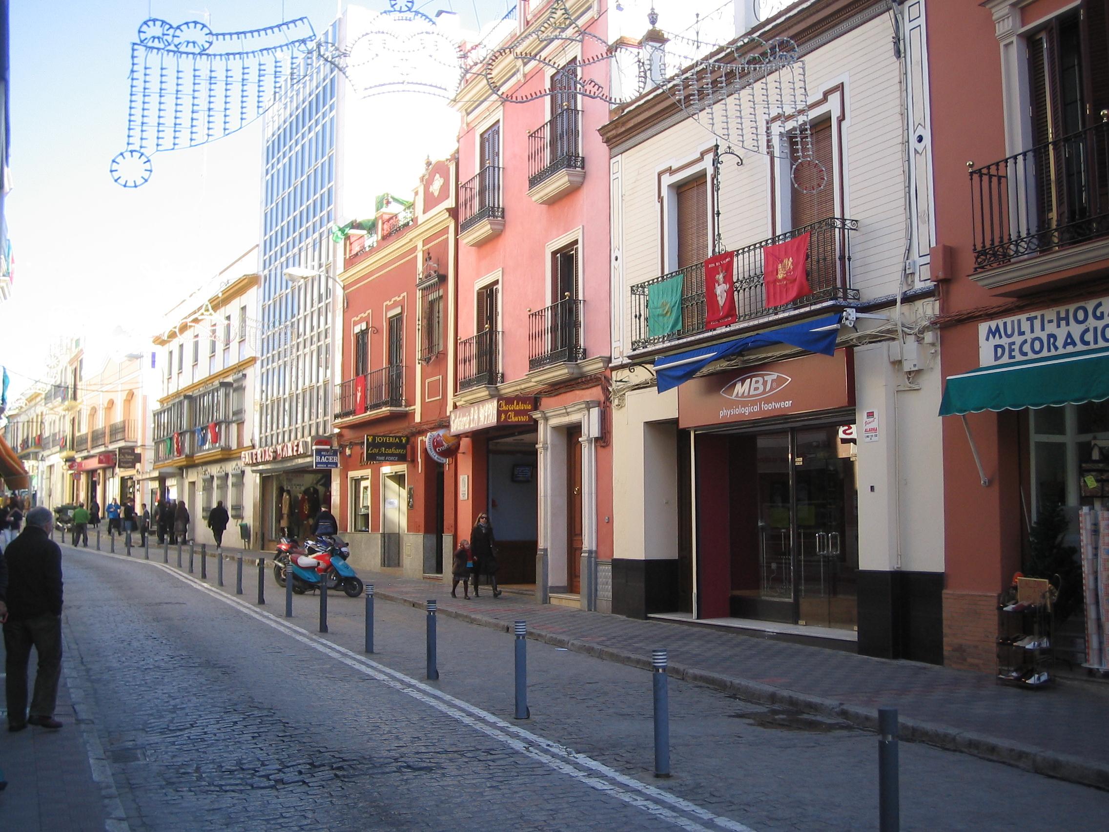 Veladores Bares Restaurantes - Calle de Alcalá de Guadira