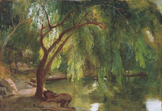 Carl Blechen Im Berliner Tiergarten