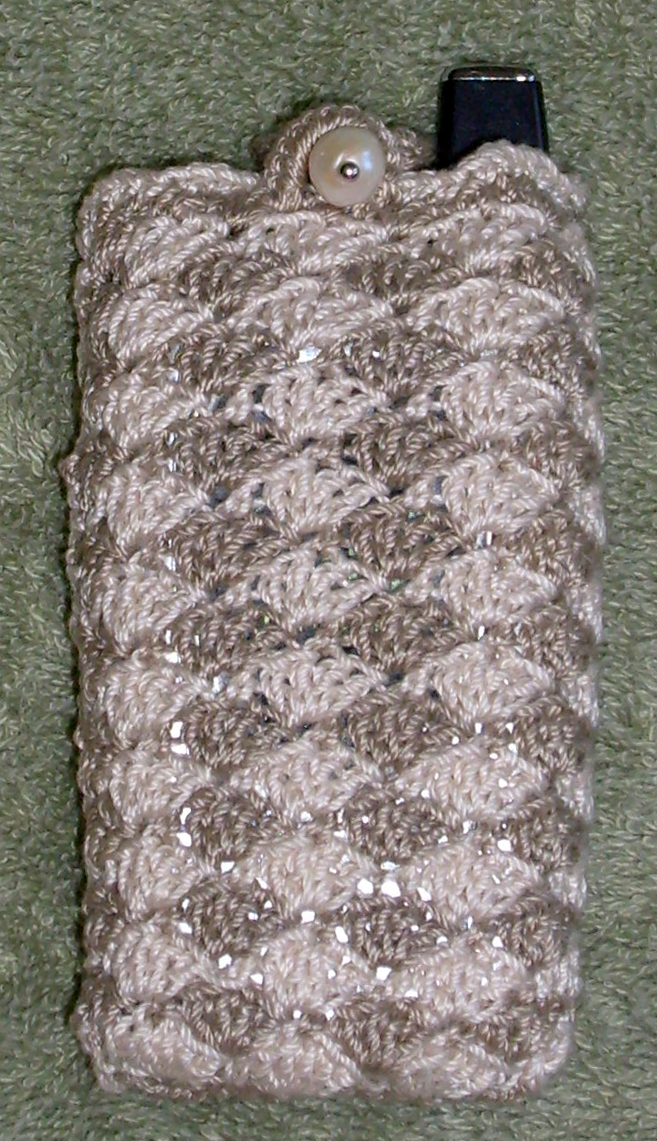 CROCHET CELL PHONE CASE Free Crochet Design and Pattern