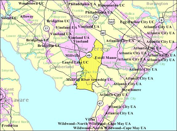 FileCensus Bureau Map Of Maurice River Township New