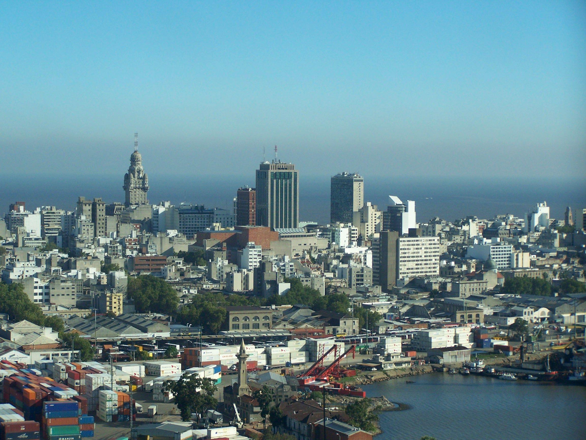 Urugvaj Centro_y_Ciudad_Vieja_Montevideo