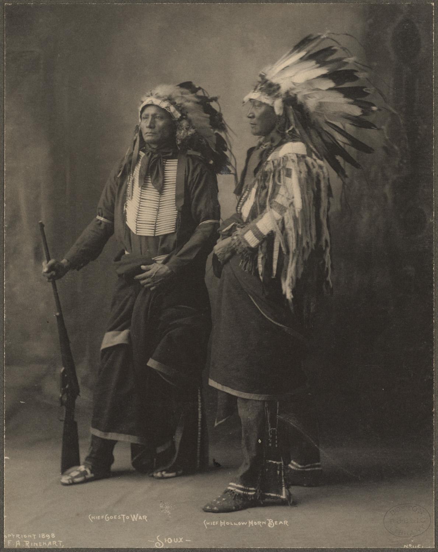 Kiowa Tribe Men Clothing