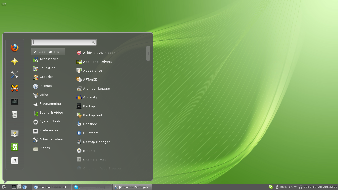 Image result for linux mint screenshot