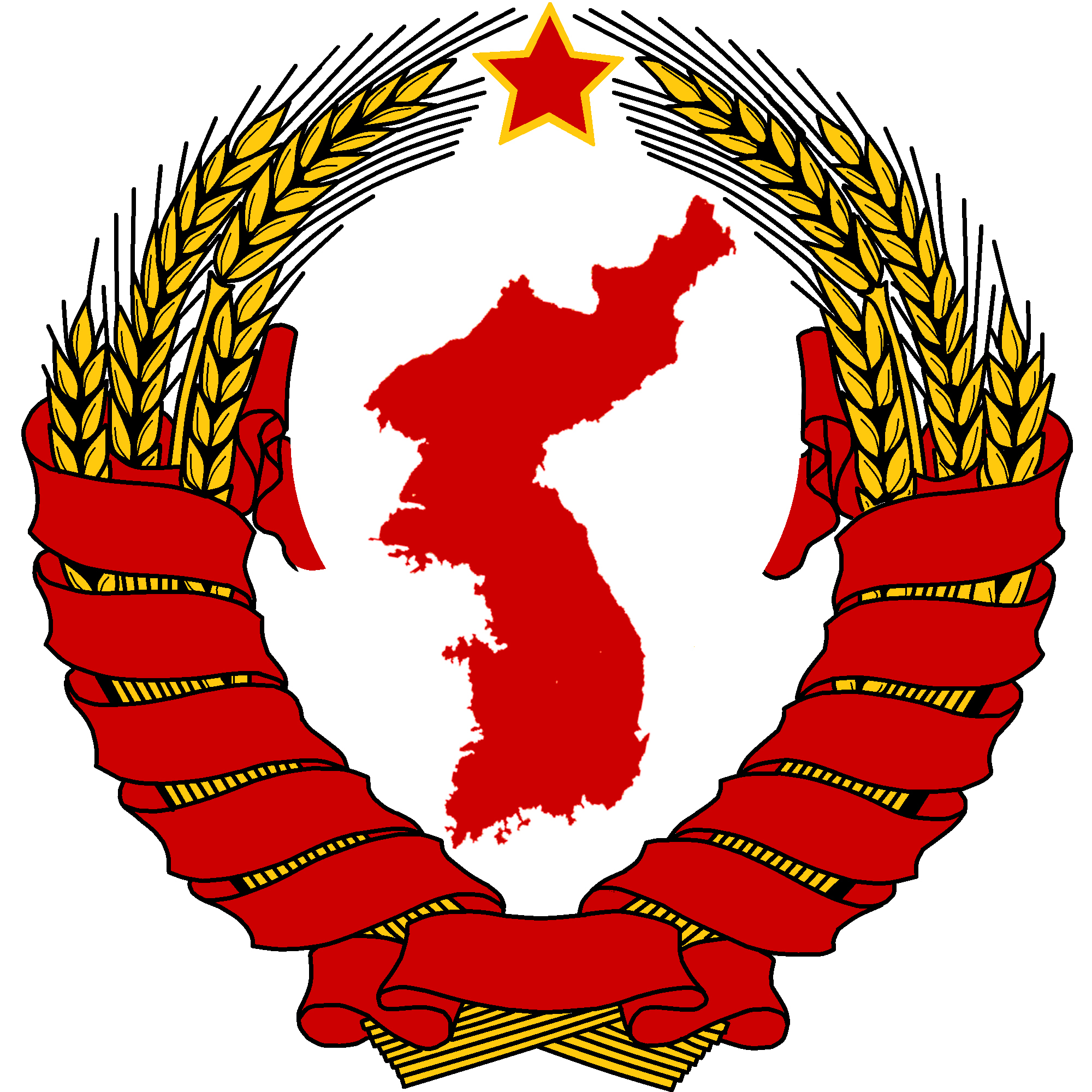 filecoat of arms of northern korea reconstructionjpg