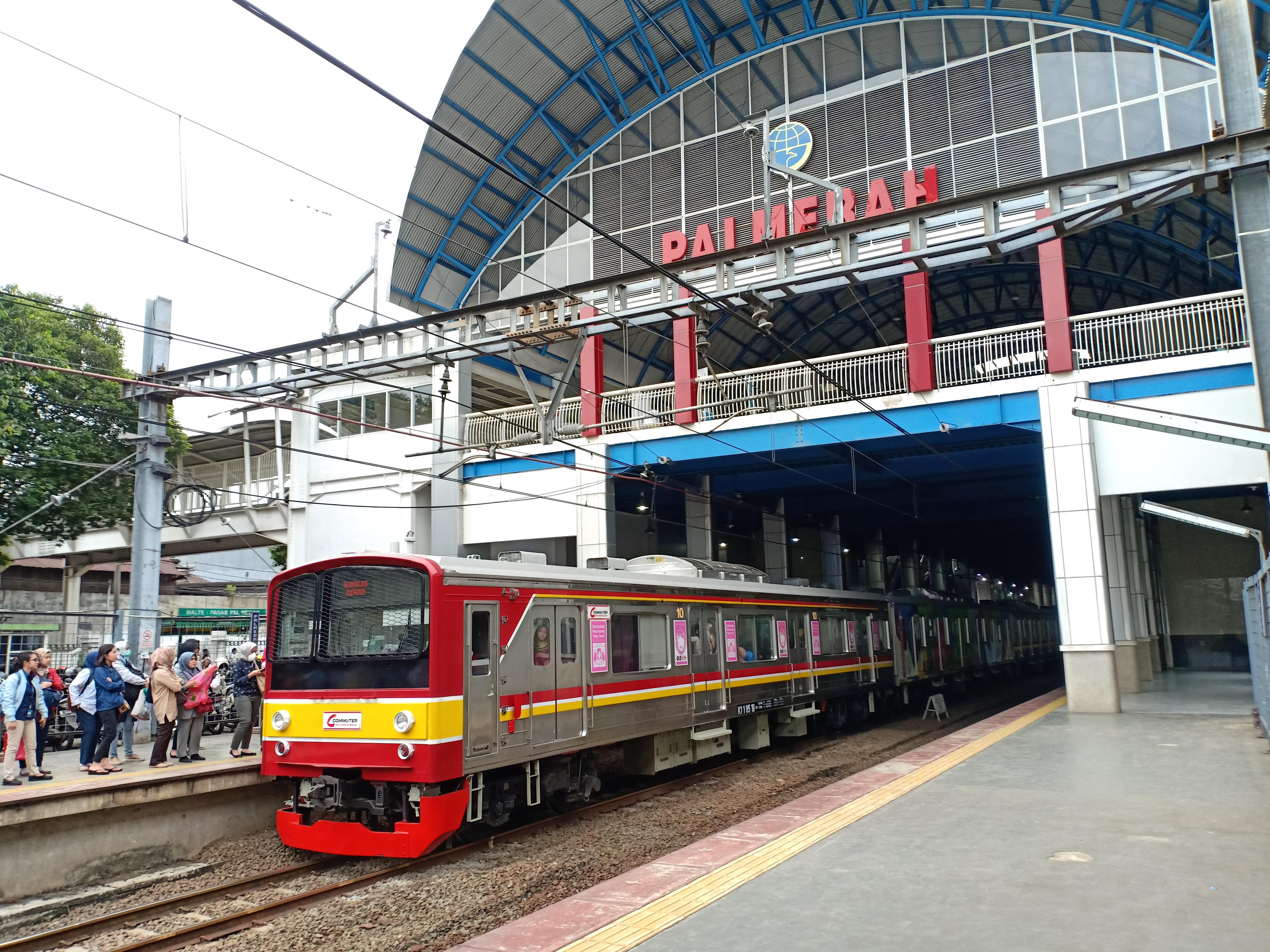 Stasiun Palmerah Wikipedia Bahasa Indonesia Ensiklopedia Bebas