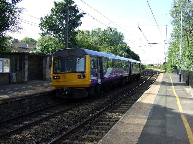 Cramlington railway station