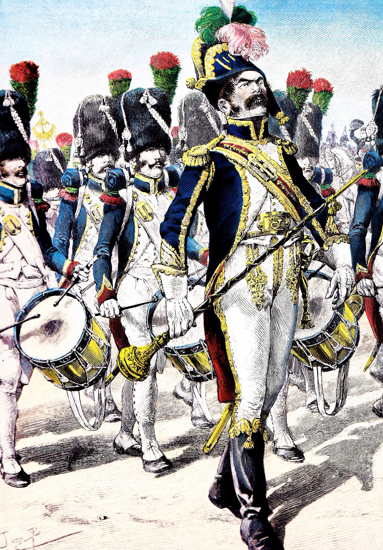 ファイル défilé des chasseurs à pied de la garde impériale jpg