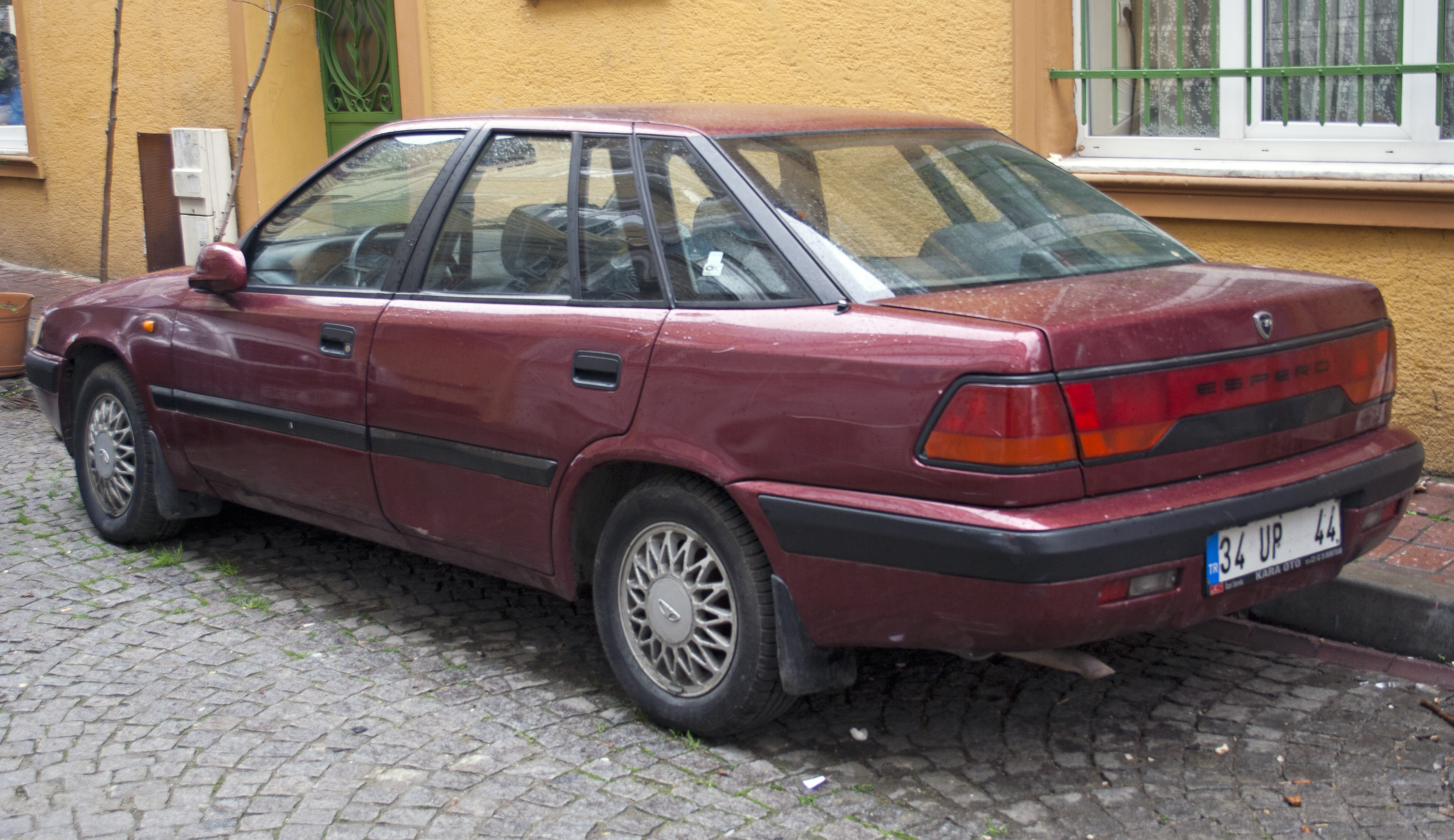File:Daewoo Espero (Turkey).jpg - Wikimedia Commons