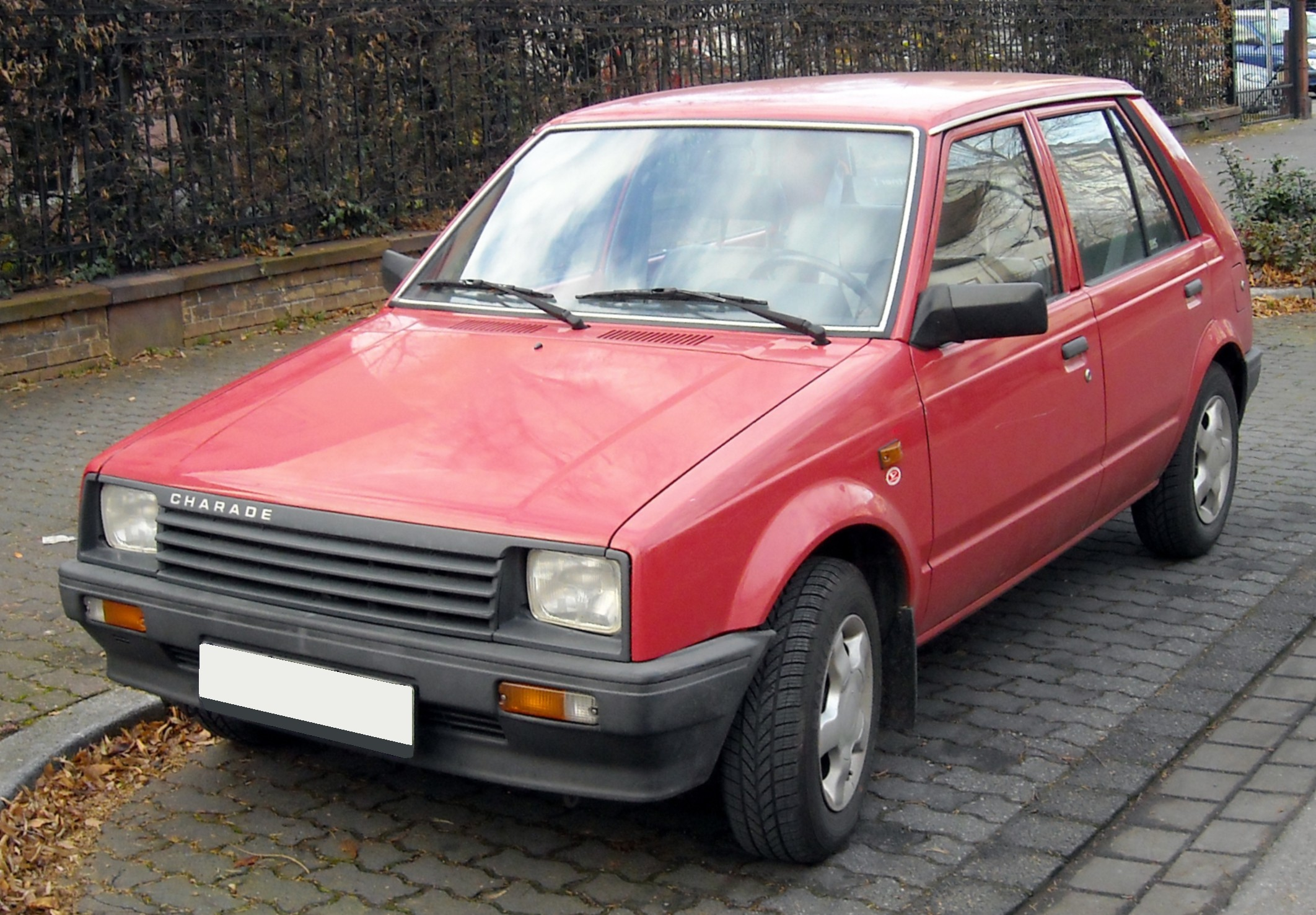Comparatif Daihatsu Charade