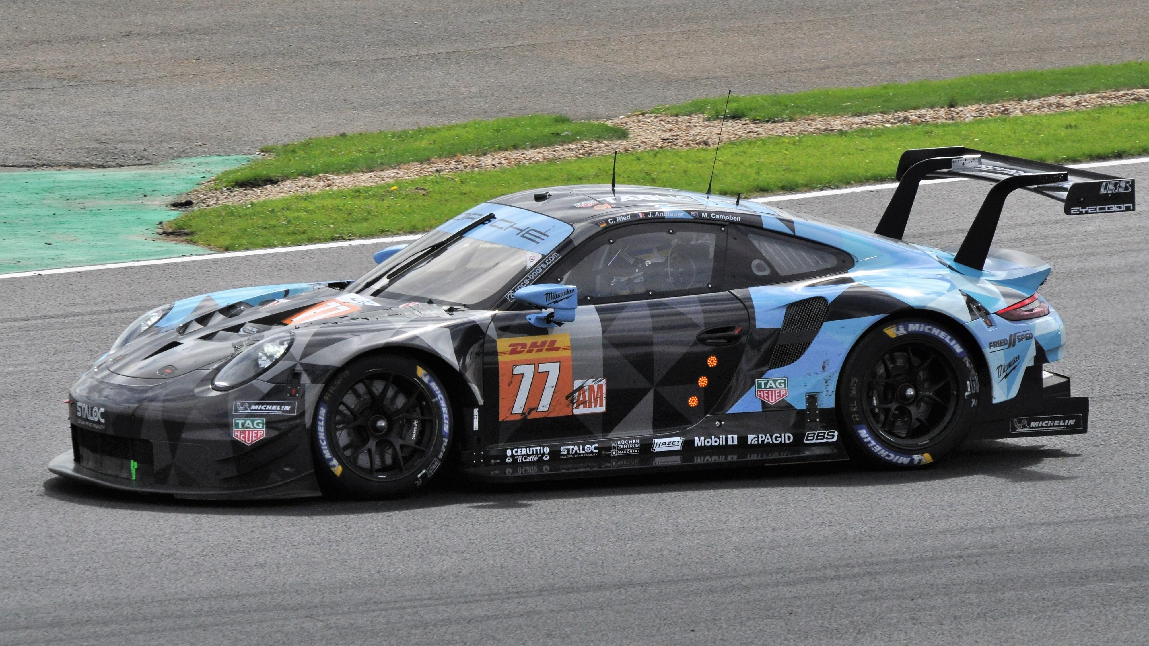 Porsche Race Cars >> Porsche 911 Rsr 2017 Wikipedia