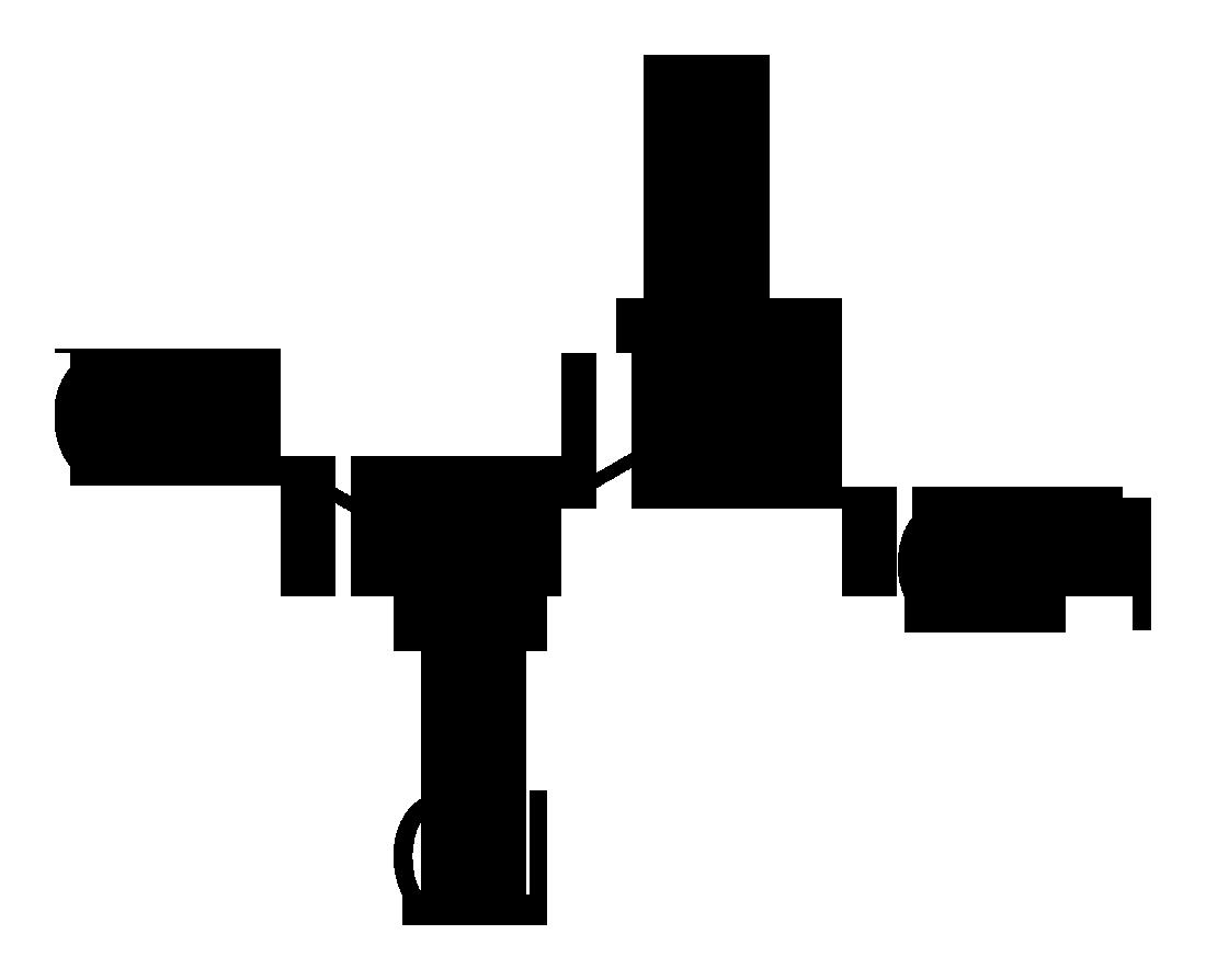 Estructura molecular de enlaces del dicloroacetato