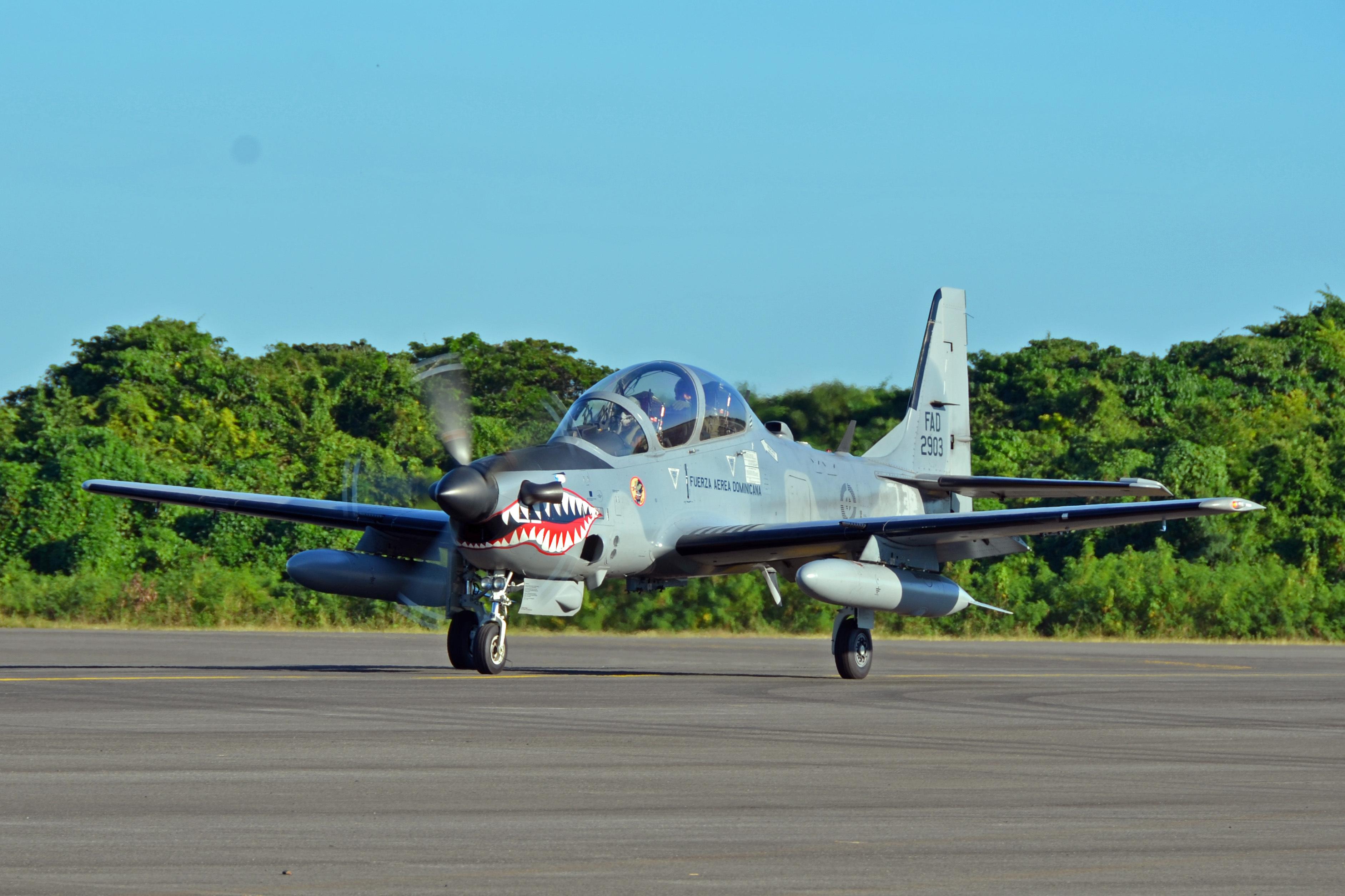 Лесни борбени авиони - Пропелери - Page 2 Dominican_Republic_Super_Tucano