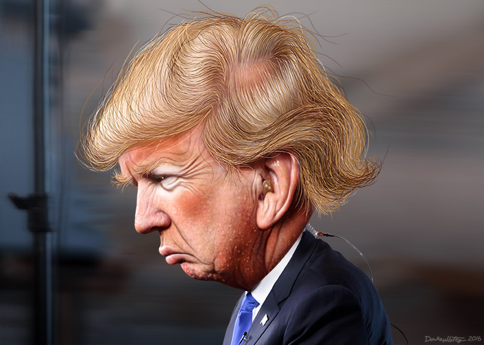 File:Donald Trump - Caricature (27612581972).jpg
