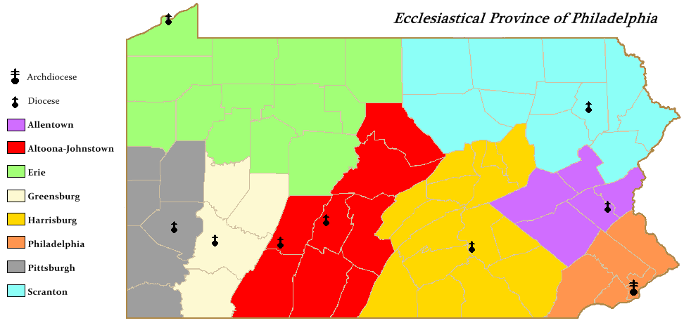 FileEcclesiastical Province of Philadelphia map 1png Wikimedia