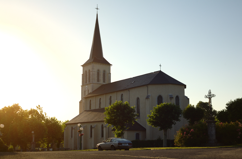 L'église de Saint-Vincent.
