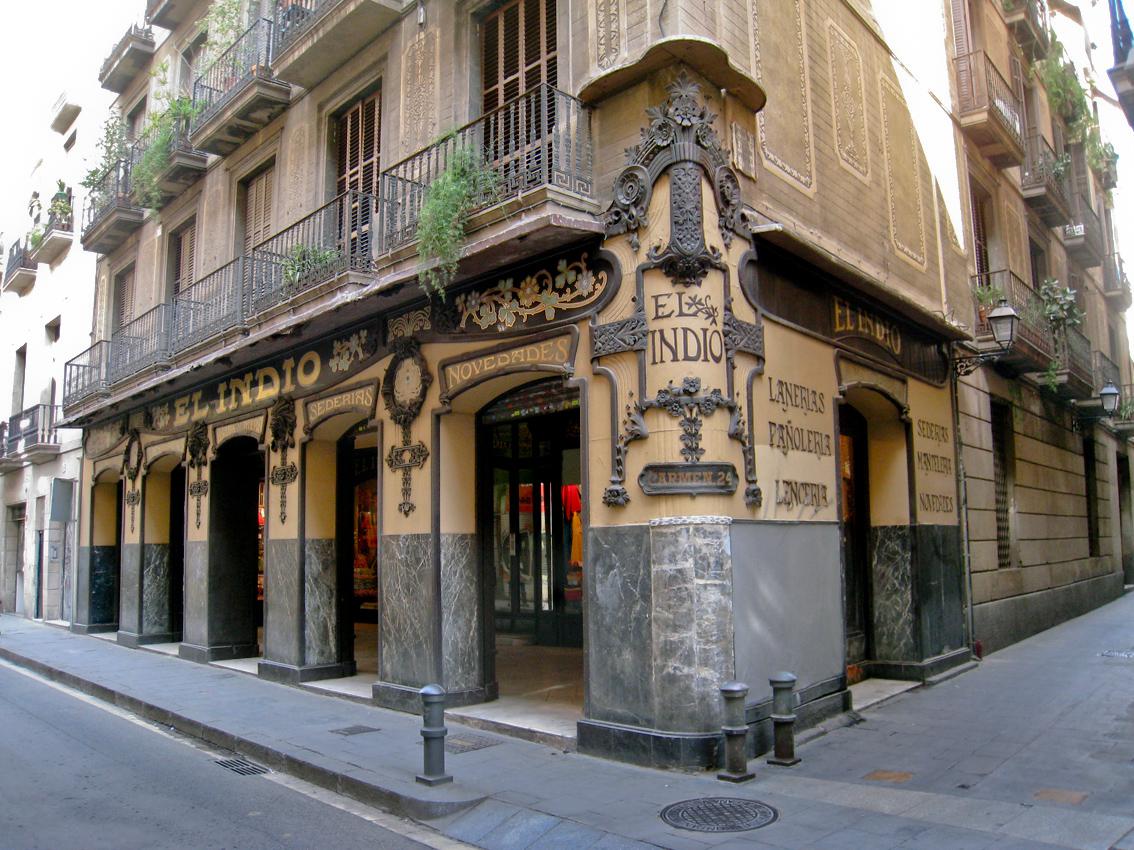 Барселона улицы
