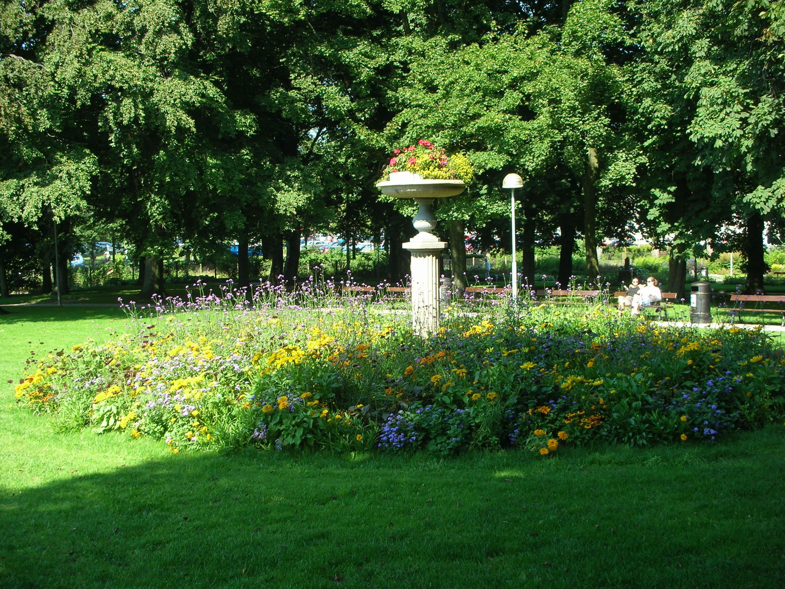 Description engelska parken vbg
