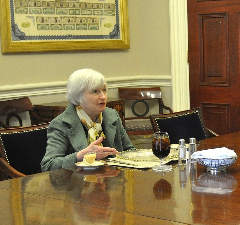Federal Reserve Chair Janet Yellen, 2014
