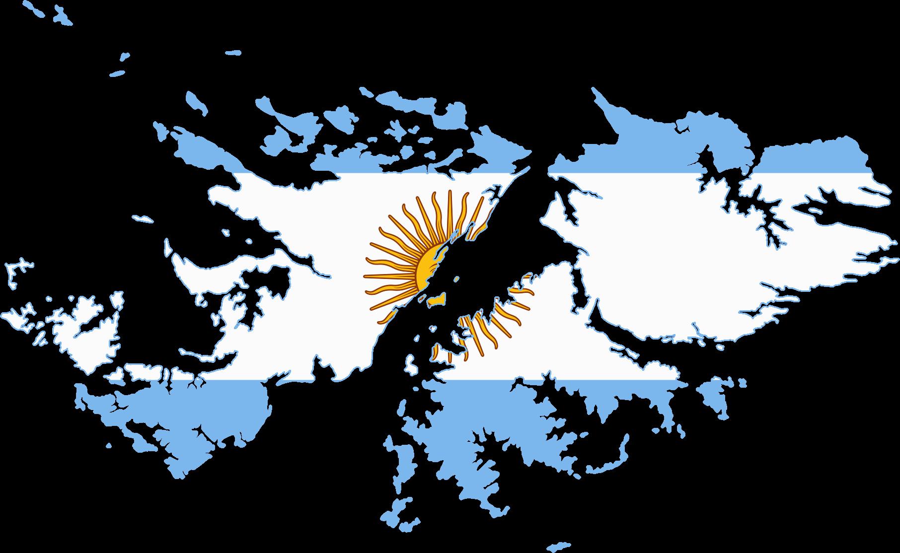 Argentina Malvinas Flag