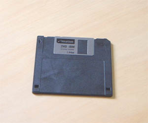 1.44 MB floppy disks can store 1,474,560 bytes...