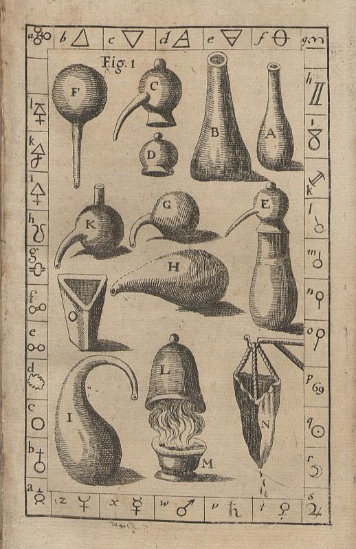 Alchemical tools.