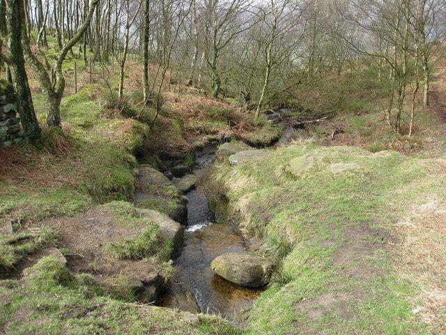 Froggatt Edge - Stream - geograph.org.uk - 752758