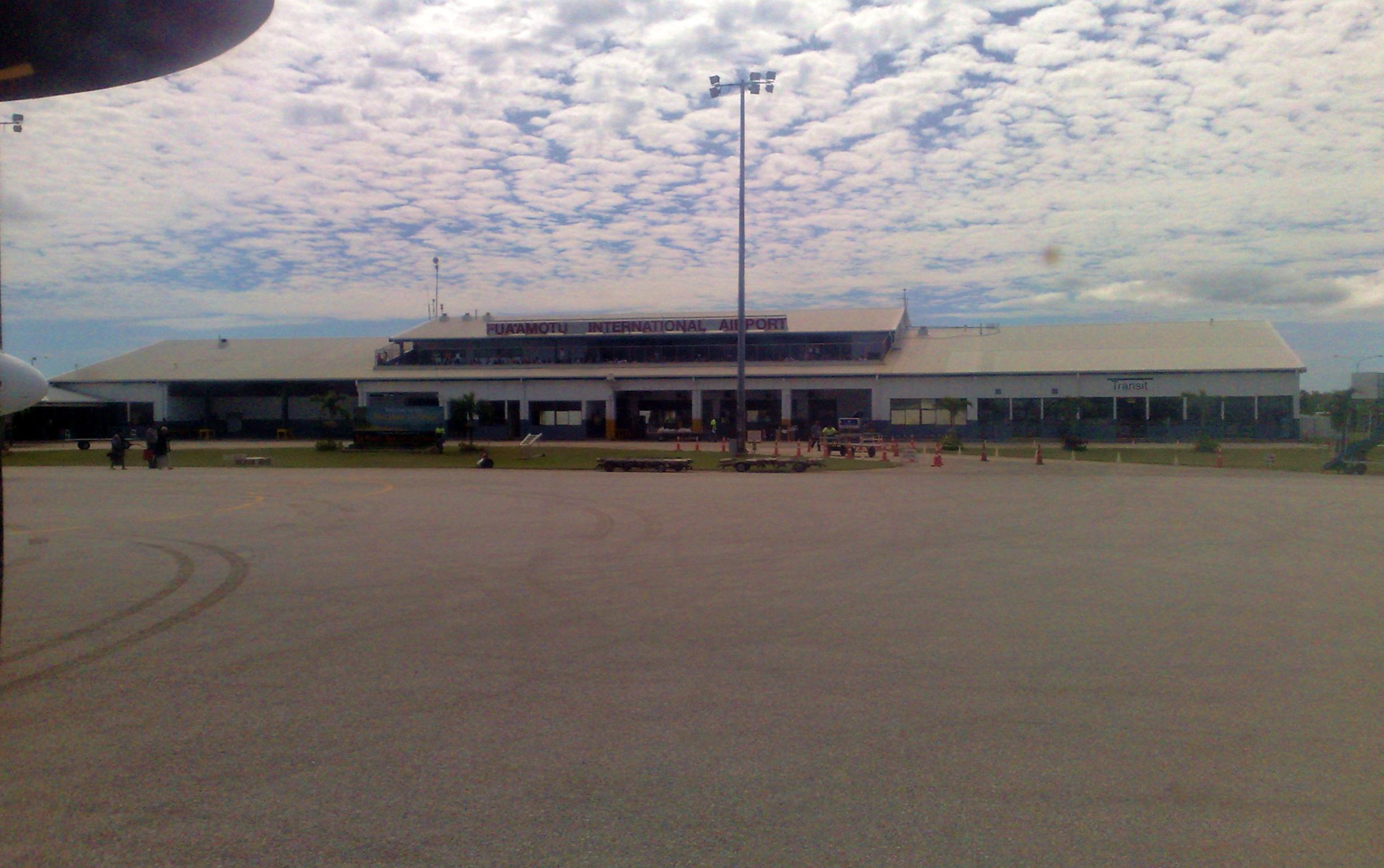 Міжнародний аеропорт Фуаамоту