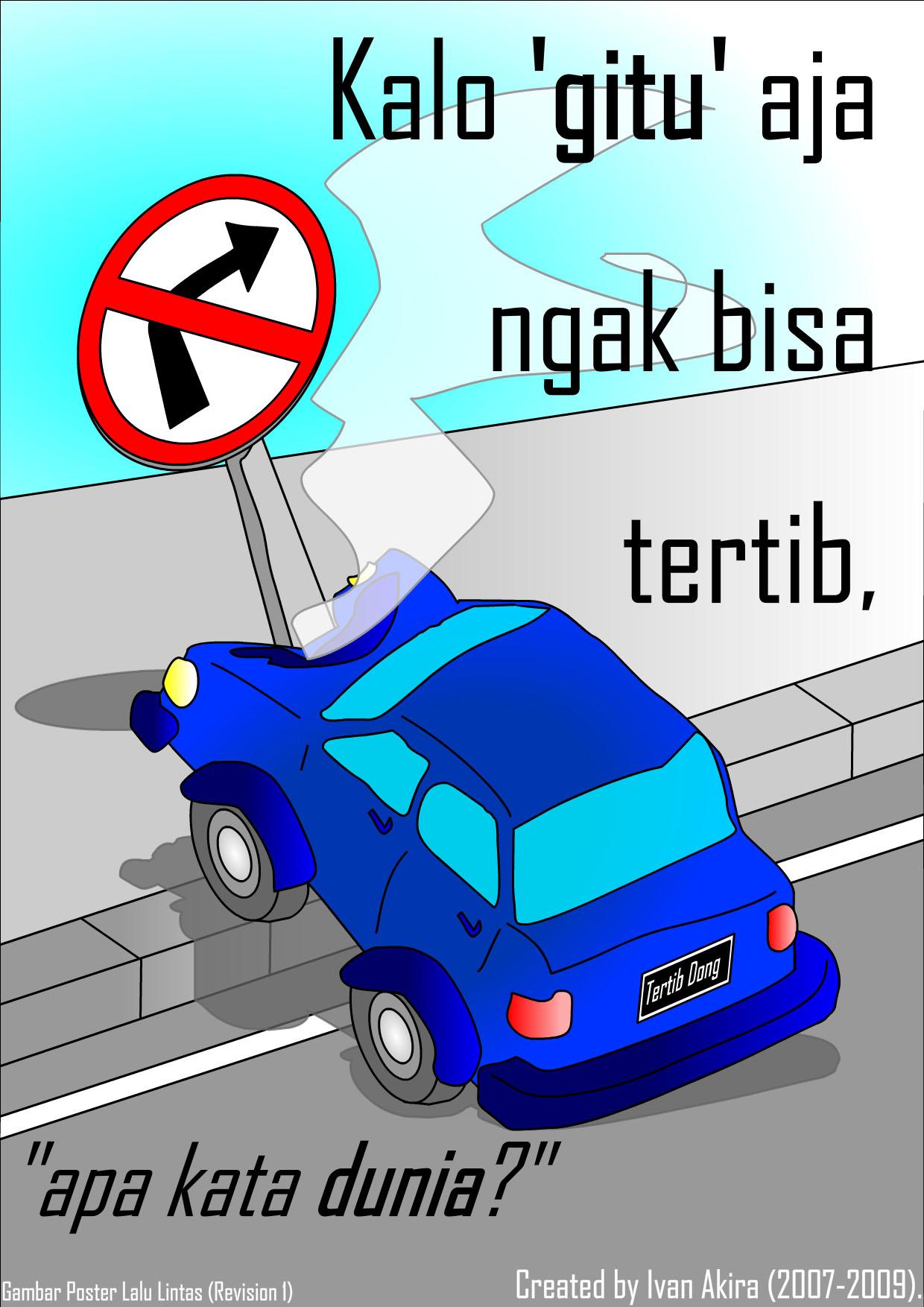 File Gambar Poster Lalu Lintas Jpg Wikimedia Commons