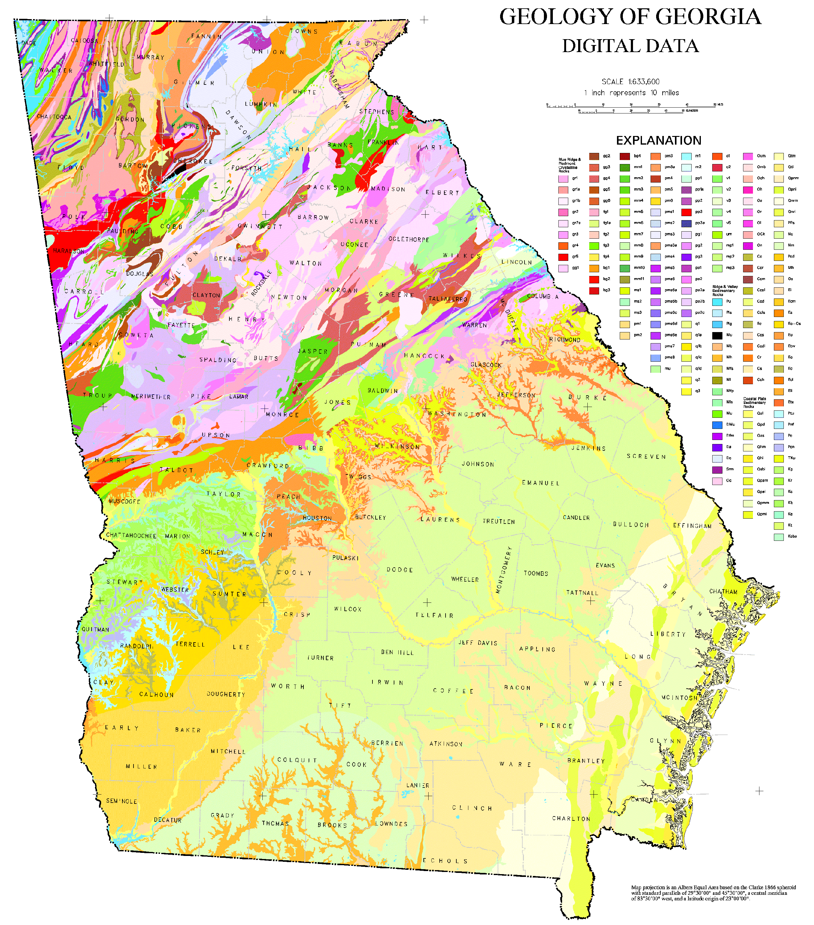 Geologic Map Of Georgia.File Geologic Map Of Georgia Png Wikimedia Commons