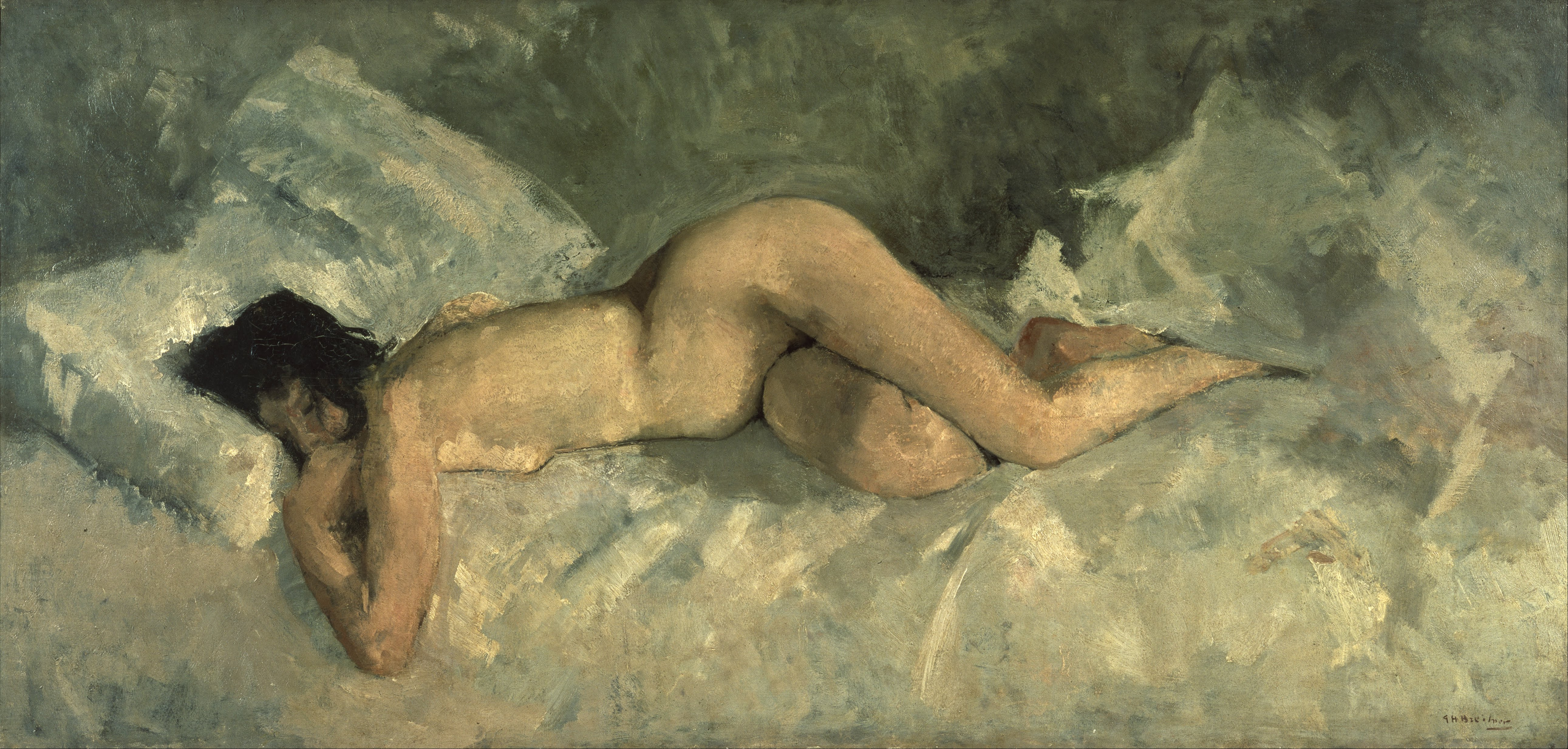 nude photography Reclining art