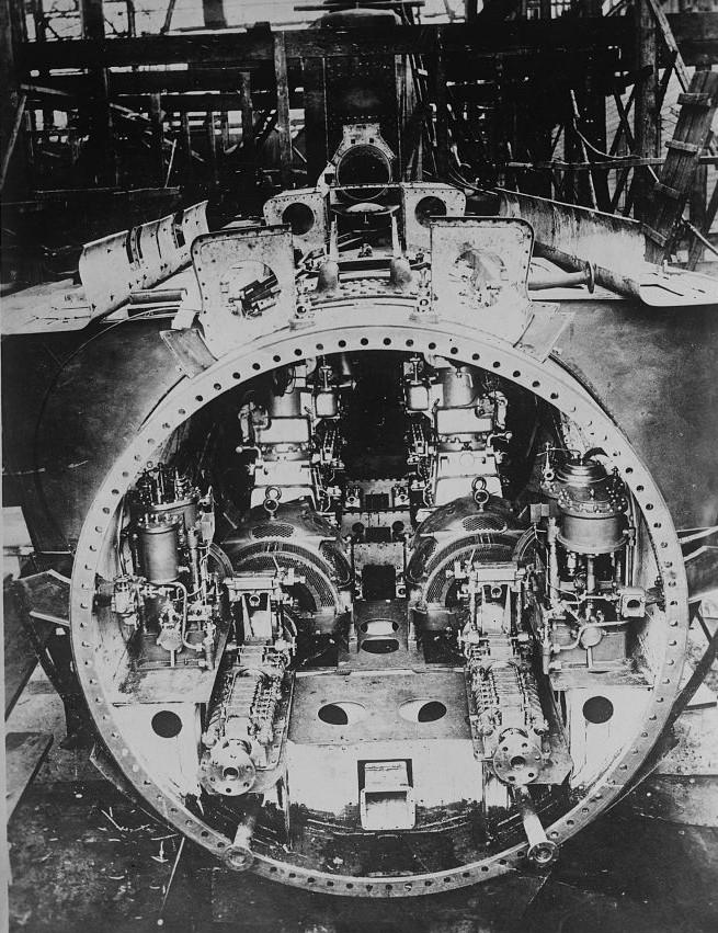 Boat Engine Room: File:German U-Boot WWI Engine Room.jpg