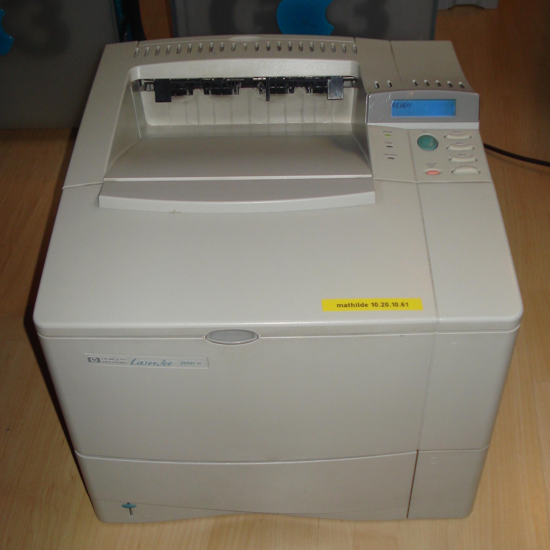 Доклад основные типы принтеров 2085