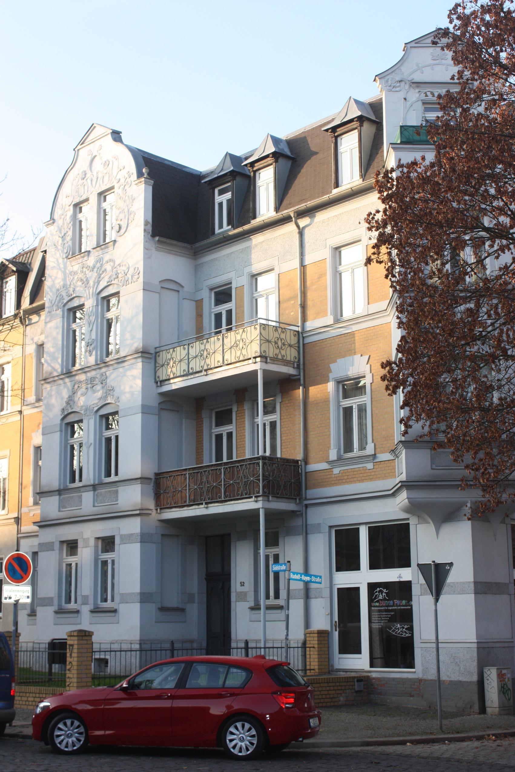 Datei Halle Saale das Haus Südstraße 52 JPG –