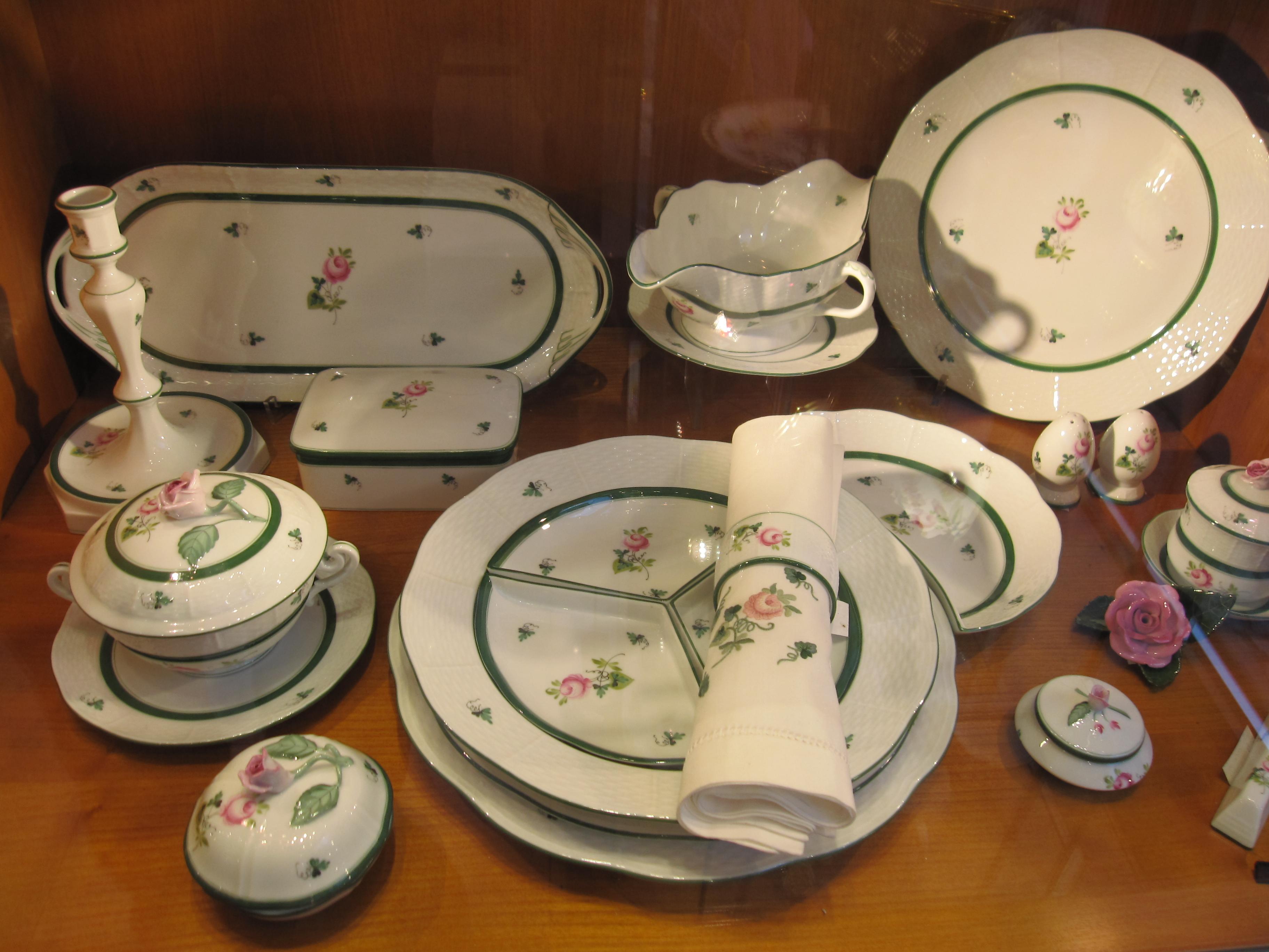 赫倫瓷器Herend Porcelain